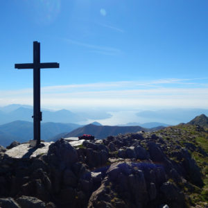 Gipfelkreuz Monte Zeda